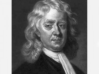 Isaac Newton  picture, image, poster
